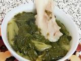 芥菜筒骨汤的做法[图]
