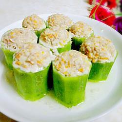 酿丝瓜的做法[图]