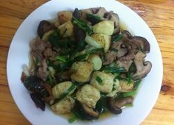 香菇肉片闷日本豆腐