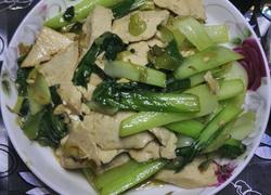 油菜烧豆腐
