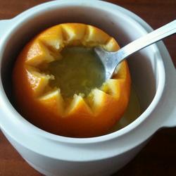 冰糖炖新奇士橙