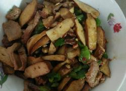 豆腐干炒肉片