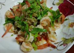 大蒜胡椒虾