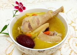 当归黄芪土鸡汤