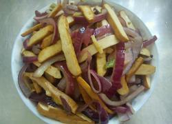 洋葱炒豆干