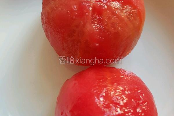 番茄免烫去皮法