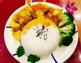 咖喱牛肉饭[图]