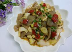 泡菜炒魔芋