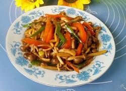 蚝油真姬菇