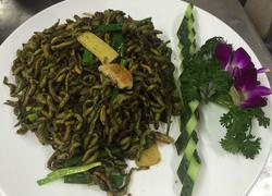 姜葱炒禾虫