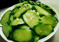 蒜香黄瓜片