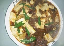 油渣猪红豆腐