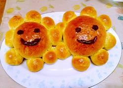 花朵笑脸面包