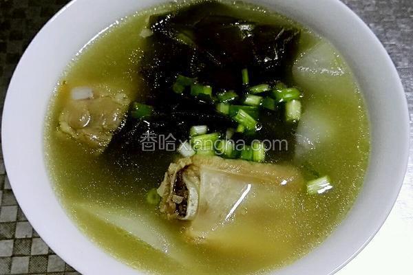 海带萝卜排骨汤