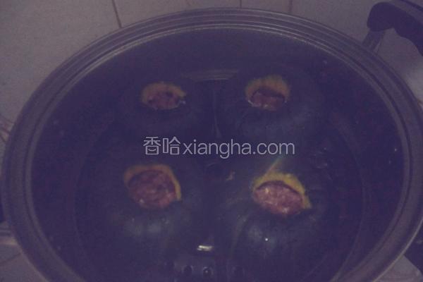 南瓜猪肉盅