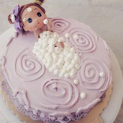 泡泡浴蛋糕