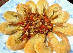 蒜蓉辣椒炒干虾