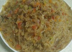 肉末炒绿豆粉丝
