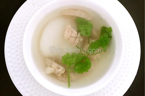 猪肺排骨海底椰汤