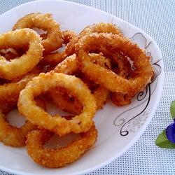 香酥鱿鱼圈的做法[图]