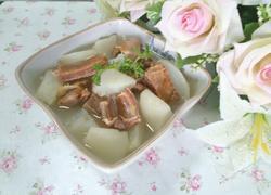 腊排骨萝卜汤
