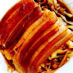 黄花菜扣肉