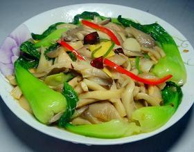 蘑菇青菜[图]