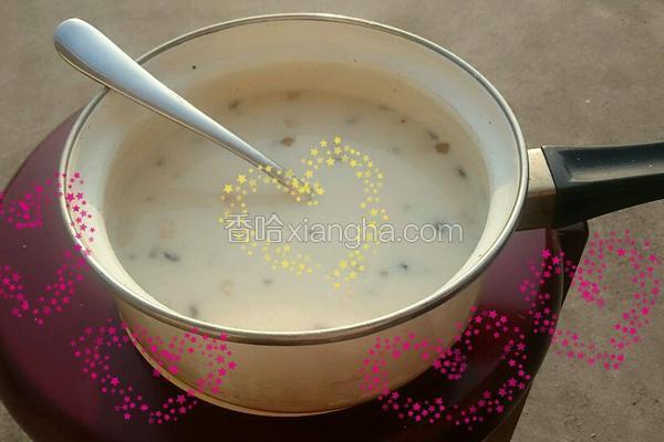 奶香麦片粥