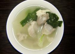 猪杂白菜汤