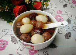 红枣桂圆鹌鹑蛋糖水