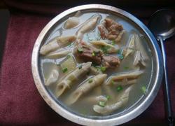 方竹笋排骨汤