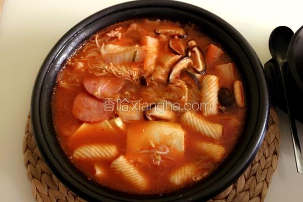 茹果妈妈韩式泡菜锅