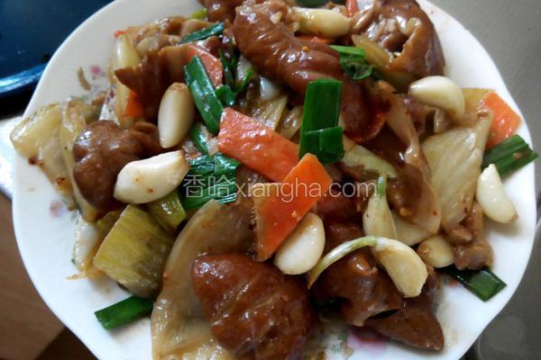 子蒜酸菜烧肥肠