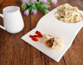 榛蘑猪肉馅饺子[图]