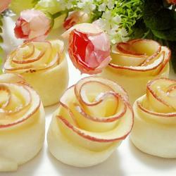 玫瑰花苹果