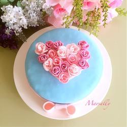 翻糖蛋糕~心愿的做法[图]