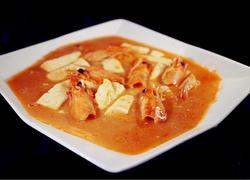 虾头豆腐汤