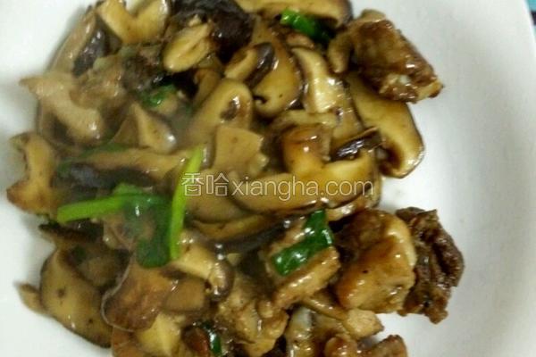 香菇炒排骨