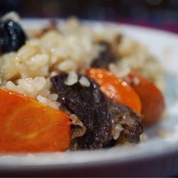 正宗新疆羊肉手抓饭(含风干牛肉版)