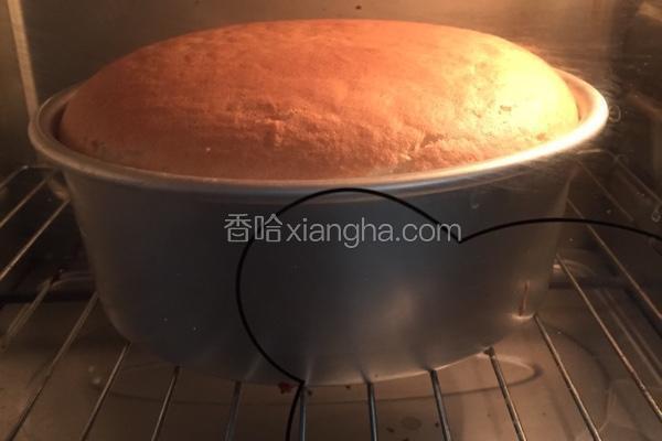 日式戚风蛋糕(6寸)
