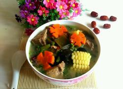 田园杂蔬骨头汤
