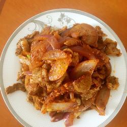 新疆炒烤肉