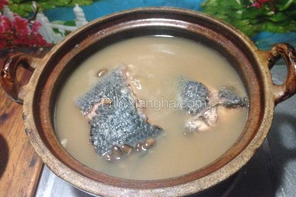 养生黑鱼汤