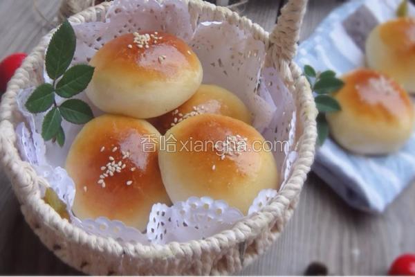 汤种葡萄干小餐包