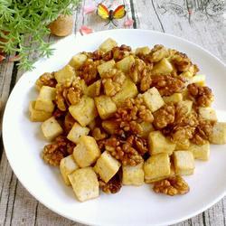 虎皮核桃豆腐