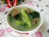 咸骨芥菜汤的做法[图]