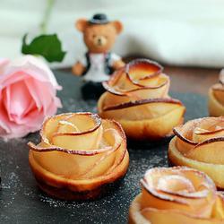 苹果玫瑰酥