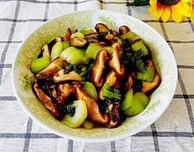 蚝油香菇油菜家庭版[图]