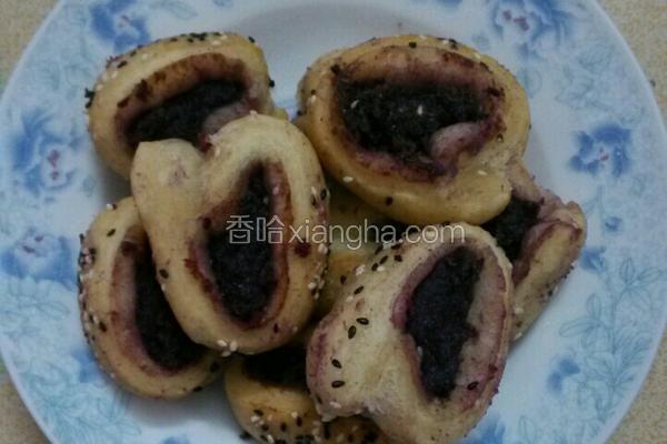 炸紫薯面卷