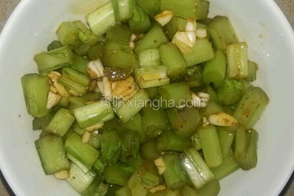 蒜香酱青菜